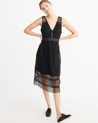Lace Midi Dress $88 thestylecure.com