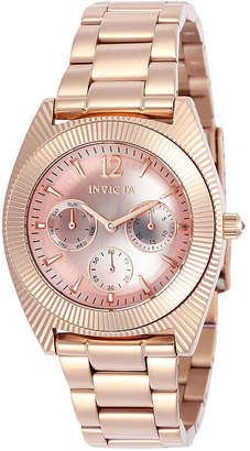 Invicta Angel Unisex Rose Goldtone Strap Watch-23750