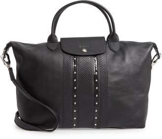Longchamp Le Pliage Leather Shoulder Bag 5a527707a73b9