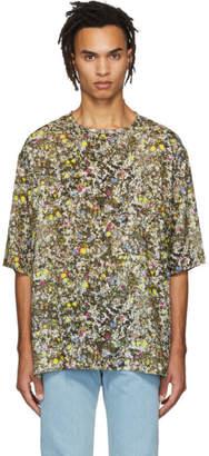 Lemaire Multicolor Neon Splash T-Shirt