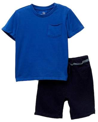 AG Jeans Pigment Dyed Tee Set (Toddler Boys)