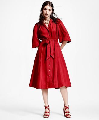 Silk Shirt Dress $598 thestylecure.com