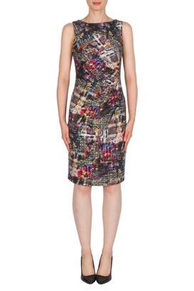 Joseph Ribkoff Shimmer Multicolored Dress