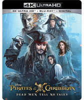 Disney Pirates of the Caribbean: Dead Men Tell No Tales - 4K Ultra HD