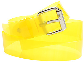 Cheap Monday The Rubber Belt in Sunny Lime