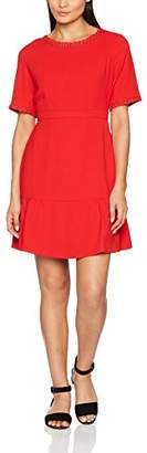 Suncoo Women's Cosmo Party Dress, Red 13-Rouge, Large