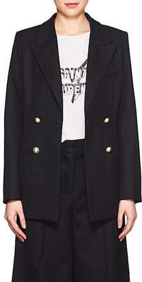 LES COYOTES DE PARIS Women's Ravy Wool-Blend Double-Breasted Blazer