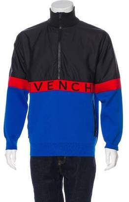 Givenchy Color Block Woven Jacket