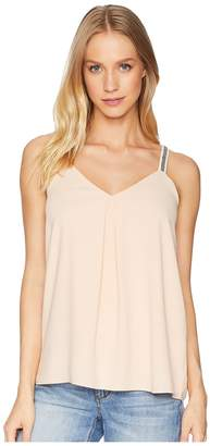 1 STATE 1.STATE Embroidered Strap Camisole Women's Sleeveless