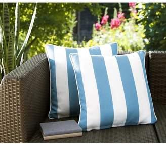 Breakwater Bay Fawcett Water Resistant Stripe Indoor/Outdoor Throw Pillow
