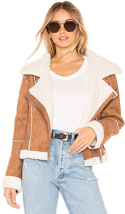 Quincy Faux Fur Jacket