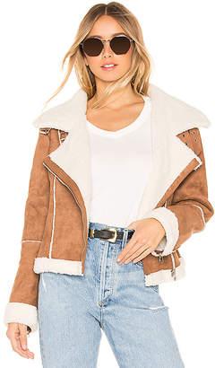 ASTR the Label Quincy Faux Fur Jacket