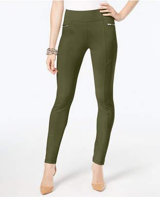 INC International Concepts I.n.c. Skinny Moto Pants, Created for Macy's