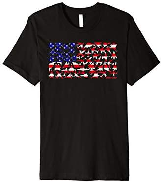 United States Military Airplane Flag