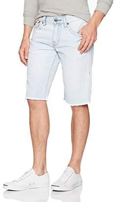 True Religion Men's Ricky Straight Short Back Flap Pockets