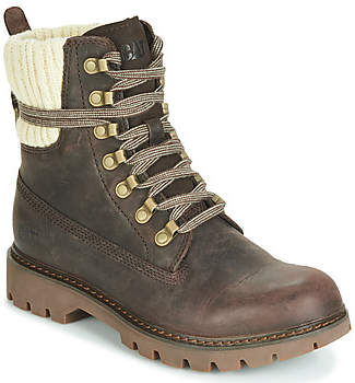 Caterpillar INFORMER women's Mid Boots in Brown