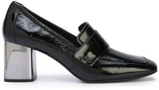 Casadei mid-heel loafers