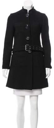 Tibi Belted Short Coat