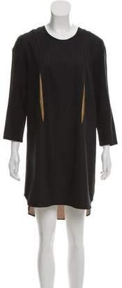 Hache Striped Mini Dress