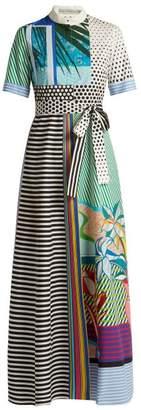 Mary Katrantzou Marlene Pop Art Print Cotton Dress - Womens - Multi