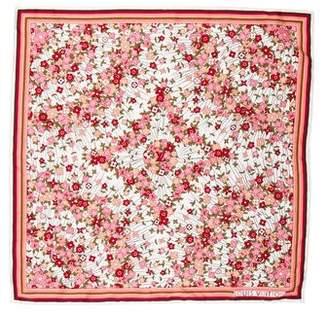 Louis Vuitton Fleur Silk Scarf