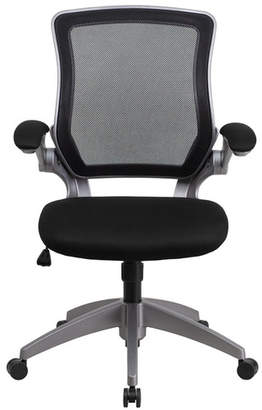 Ebern Designs Balogh Ergonomic Mesh Office Chair Color : Black
