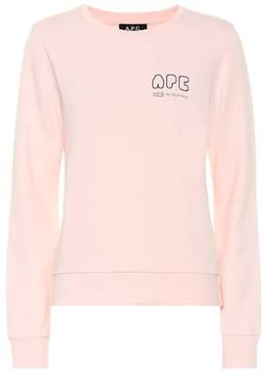 A.P.C. V2.0 cotton sweatshirt