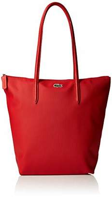 Lacoste Nf1890po, Women's Tote, Red (High Risk Red), 16x35x26 cm (W x H L)