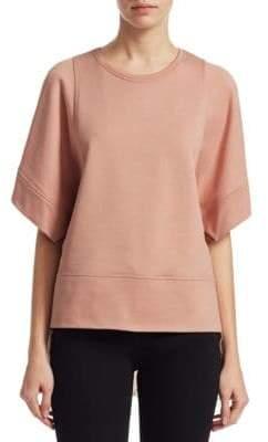 No.21 NO. 21 Short Sleeve Sweatshirt