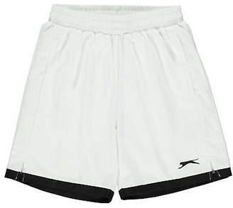Slazenger Kids Court Shorts Junior Performance Pants Trousers Bottoms Active Fit