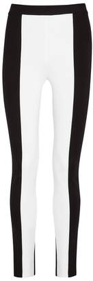 Givenchy Monochrome Stretch-knit Leggings