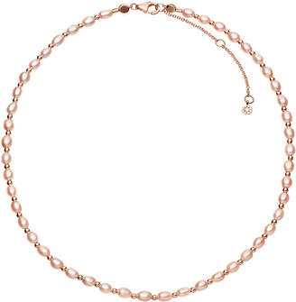 Astley Clarke Biography Pink Pearl choker necklace