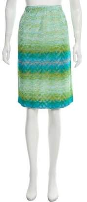 Missoni Printed Knee-Length Skirt w/ Tags