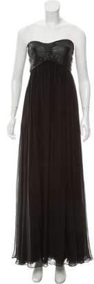 Diane von Furstenberg Strapless Alexie Gown