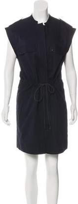 A.L.C. Button-Up Sleeveless Dress