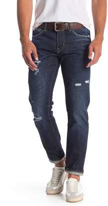 Vigoss Lennon Zip 341 Straight Leg Jeans - Size 38