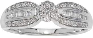 Armani Exchange Jewelry 0.25 Carat T.W. Diamond Sterling Silver Engagement Ring (IJ I2-I3)