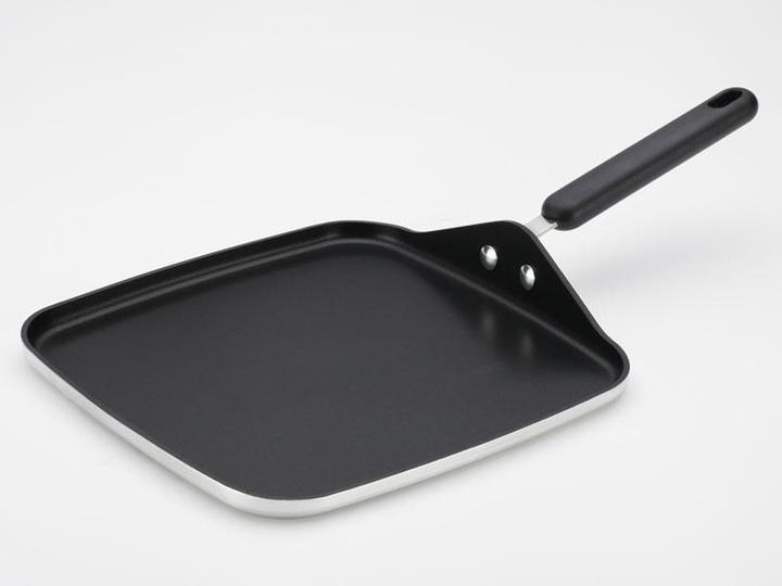 Farberware 11-in. Commercial Cookware Square Griddle with Handle