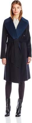 Diane von Furstenberg Women's Melanie Wrap Coat