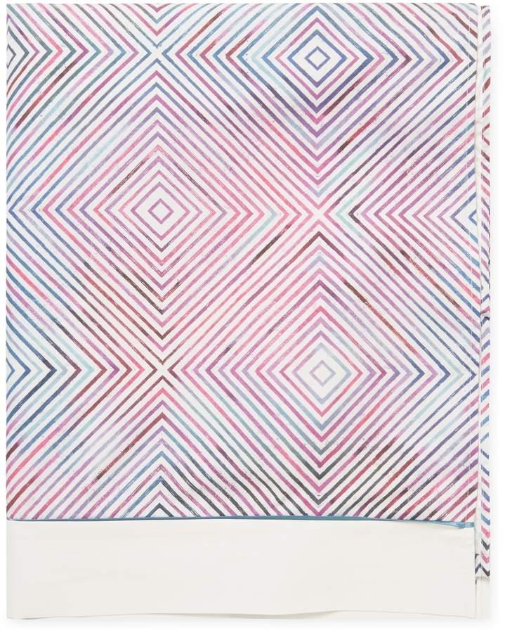 Anne de Solene Graphic Flat Sheet