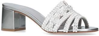 Gina Embellished Visage Mules 60