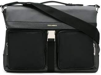 Dolce & Gabbana flap messenger bag