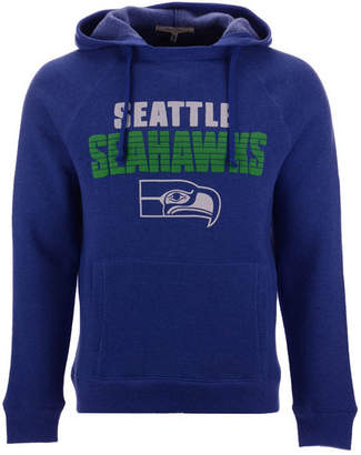 Authentic Nfl Apparel Men's Seattle Seahawks Out & Up Hooded Sweatshirt