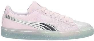 Sophia Webster X Puma Suede Glitter Princess Sneakers