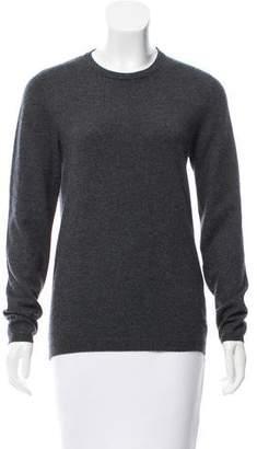 Brunello Cucinelli Cashmere Leather-Accented Sweater