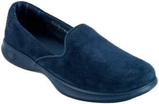 Skechers GOstep Lite Suede Slip-On Shoes - Indulge