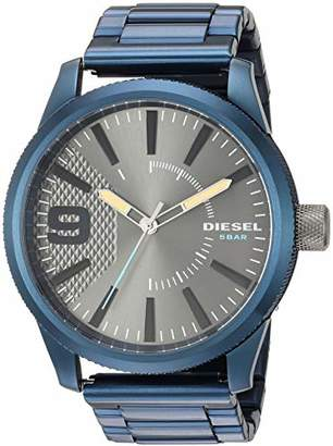 Diesel Men's 'Rasp NSBB' Quartz Stainless-Steel-Plated Watch