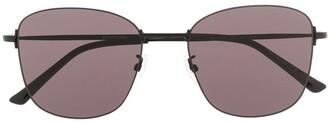 Balenciaga invisible wayfarer frames sunglasses