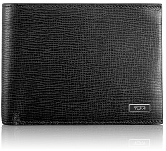 Men's Tumi 'Monaco' Global Leather Wallet With Coin Pocket - Black $175 thestylecure.com