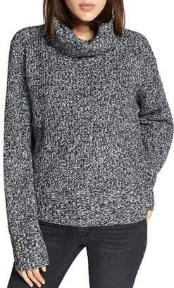 Sanctuary Marled Turtleneck Sweater